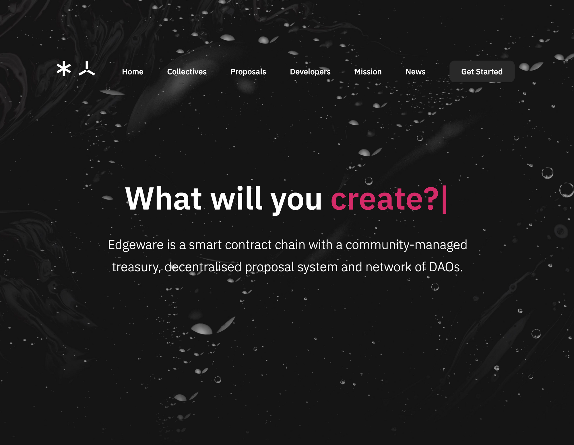Edgeware launches decentrally-designed and publicly-funded website refresh.
